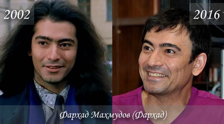 Фото Фархада Махмудова (Фархад) тогда и сейчас