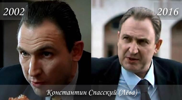 Фото Константина Спасского (Лёва) тогда и сейчас