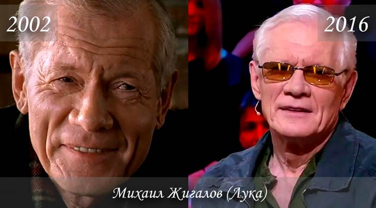Фото Михаила Жигалова (Лука) тогда и сейчас