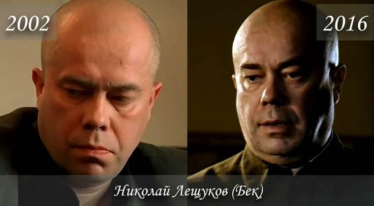 Фото Николая Лещукова (Бек) тогда и сейчас