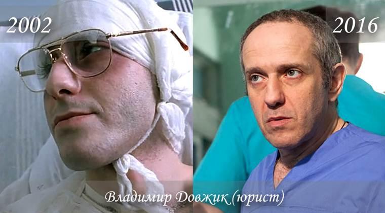 Фото Владимира Довжика (юрист) тогда и сейчас