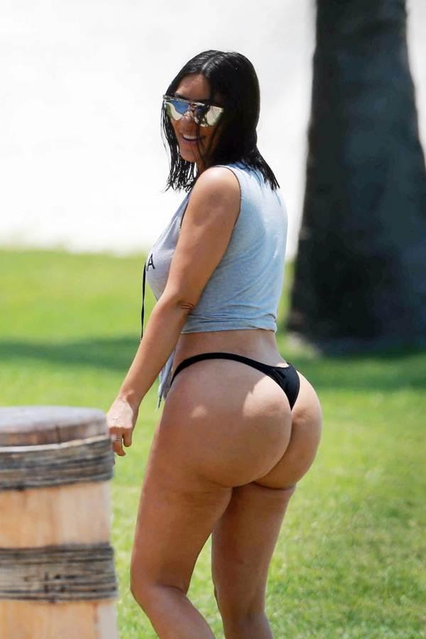 Ким Кардашьян снимки без фотошопа