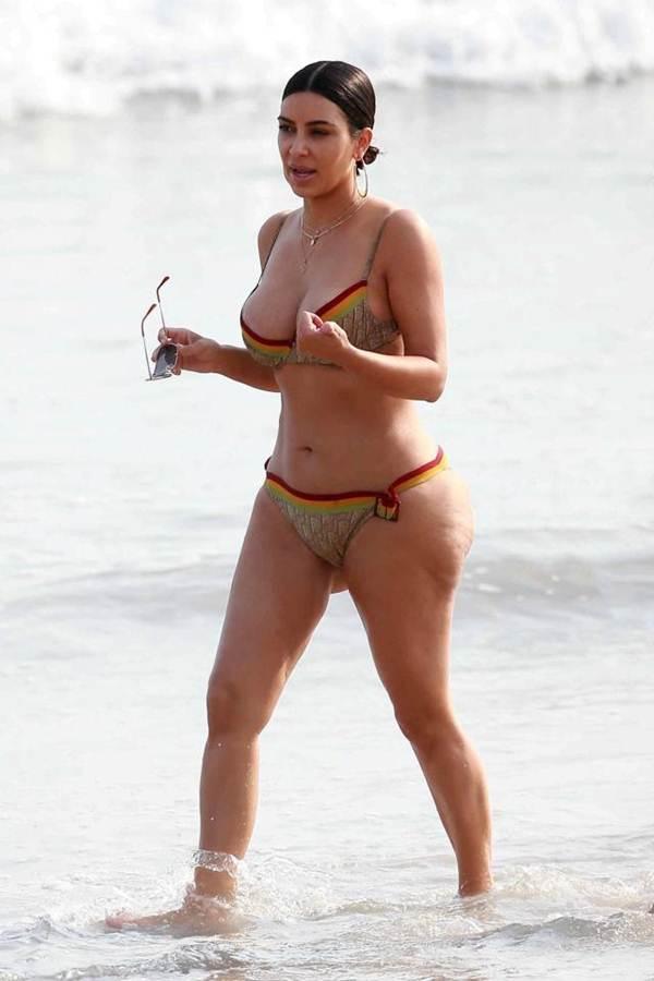 Ким Кардашьян без фотошопа