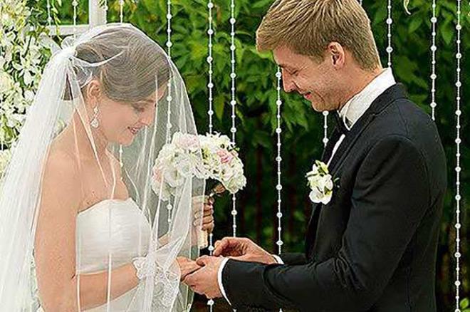 Свадебное фото Анны Михайловской