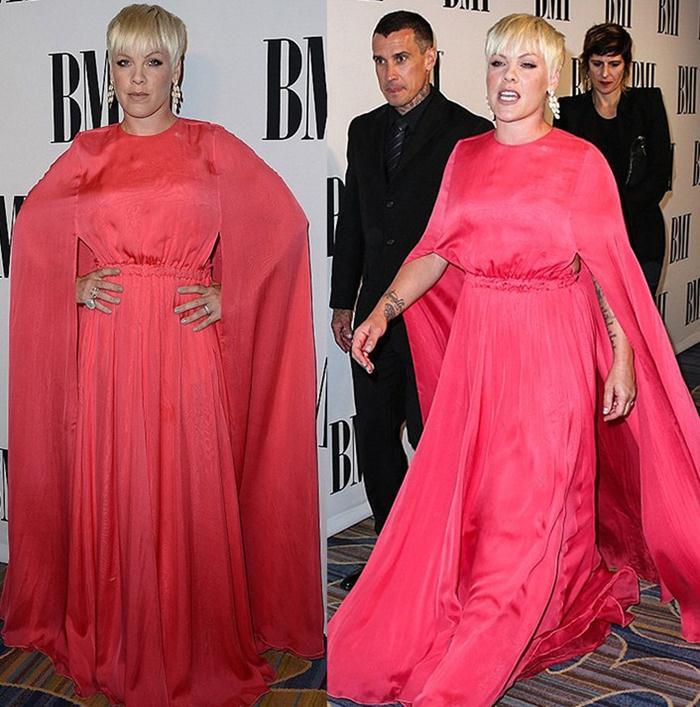 Певица Pink рост вес