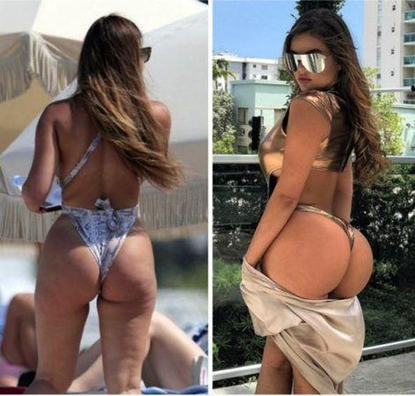 Анастасия Квитко фото до и после фотошопа