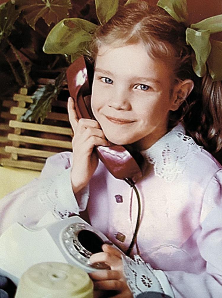 Детские снимки Натальи Водяновой