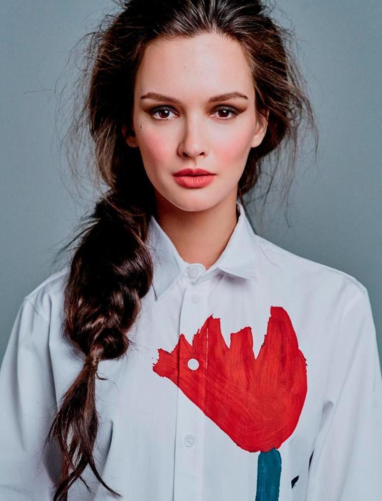 Цвет глаз Паулины Андреевой