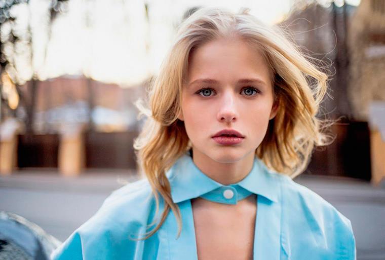 Александра Бортич: цвет волос