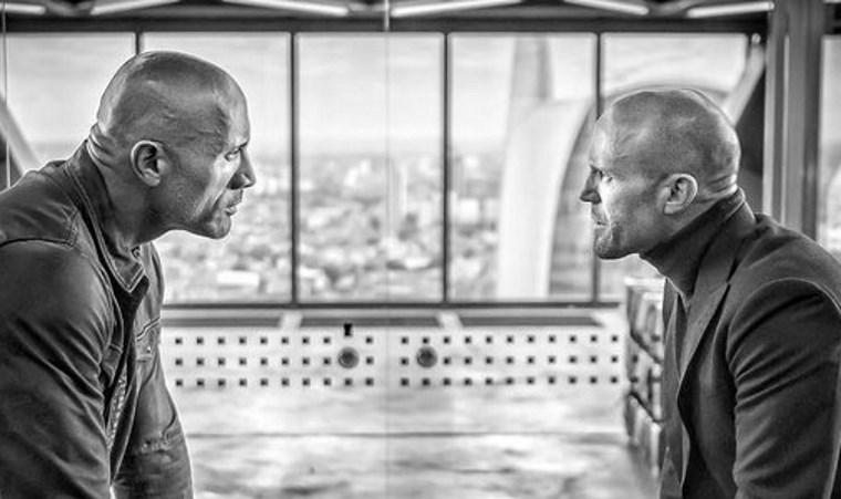 Хоббс и Шоу играют в гляделки на новом промо к спин-оффу «Форсажа»