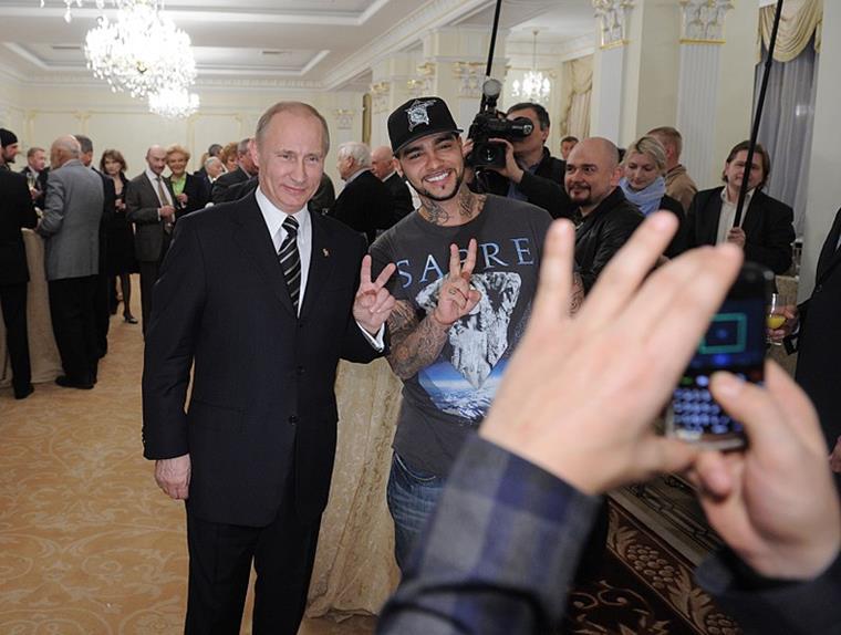 Рост Тимати и Путина