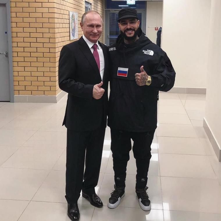 Какой рост Тимати и Владимира Путина