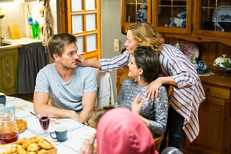 Актеры и роли сериала «Пекарь и красавица»