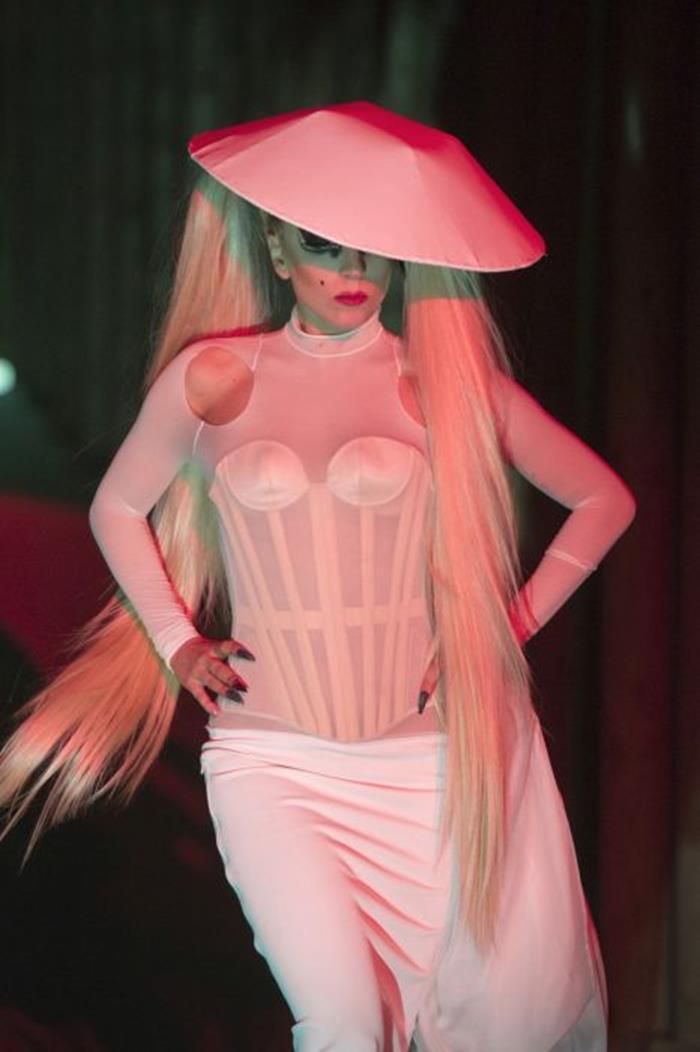 Леди Гага: вес и параметры фигуры