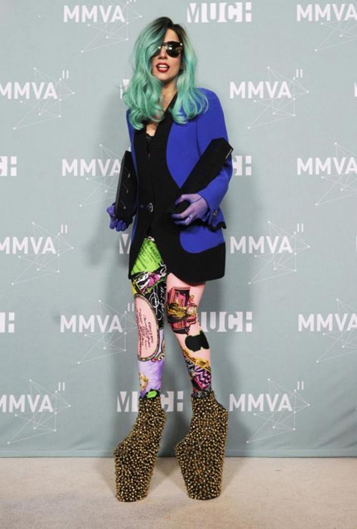 Леди Гага: вес