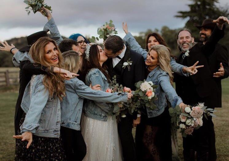 Холли Комбс и Майк Райан свадебные фото