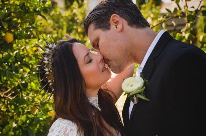 Свадебные фото Холли Мэри Комбс и Майка Райана