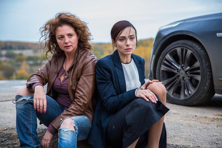 Актеры сериала Отчаянные с Анной Снаткиной