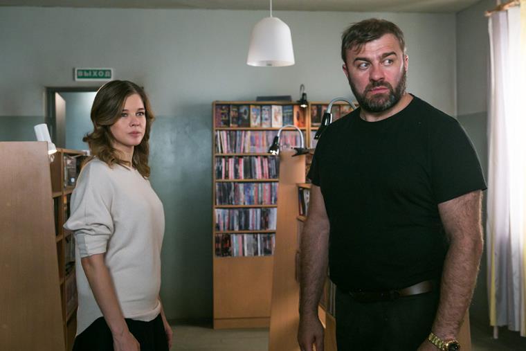 Актеры и роли сериала «Полярный»