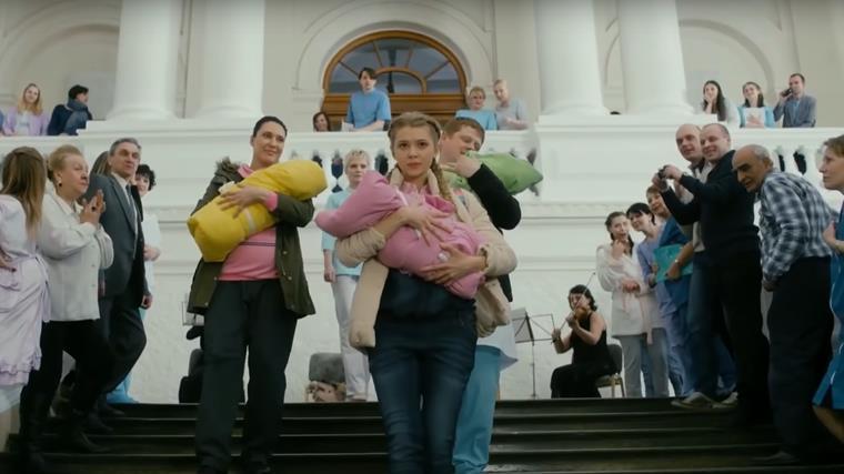 Актеры и роли русского сериала Тест на беременность