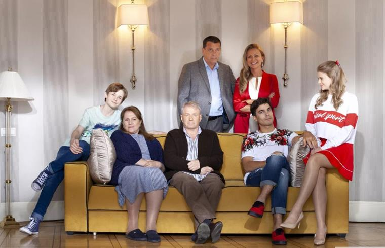 Актеры и роли сериала «В шаге от рая»