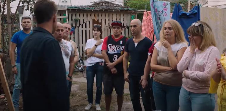 Актеры и роли сериала «Закрытый сезон»