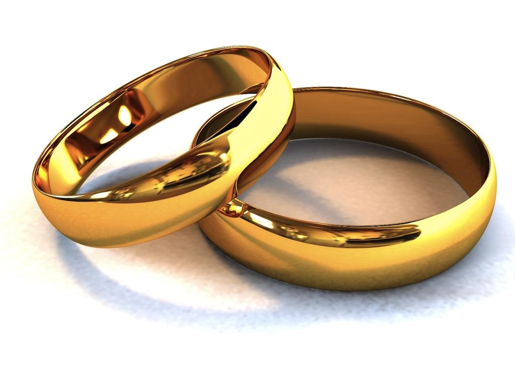 Обручальные кольца в радость молодым